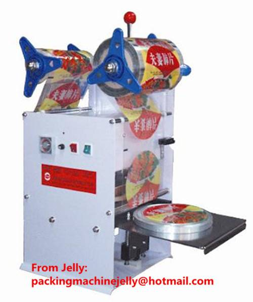 Semi-automat cup/bowl sealing machine(auto film feeding)