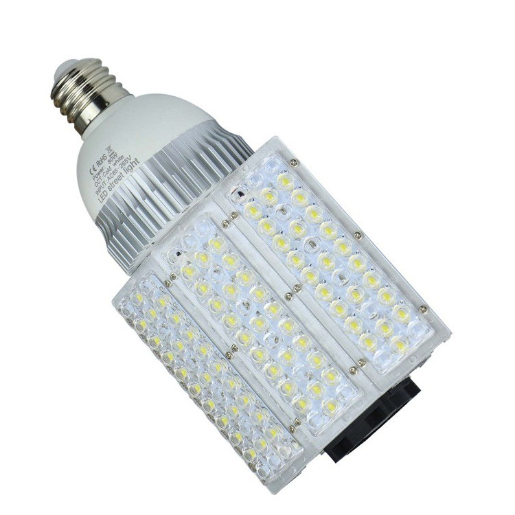 100W High Bay E40 LED Corn Street Lightings with IP65 E40 Base and Ce RoHS Approved