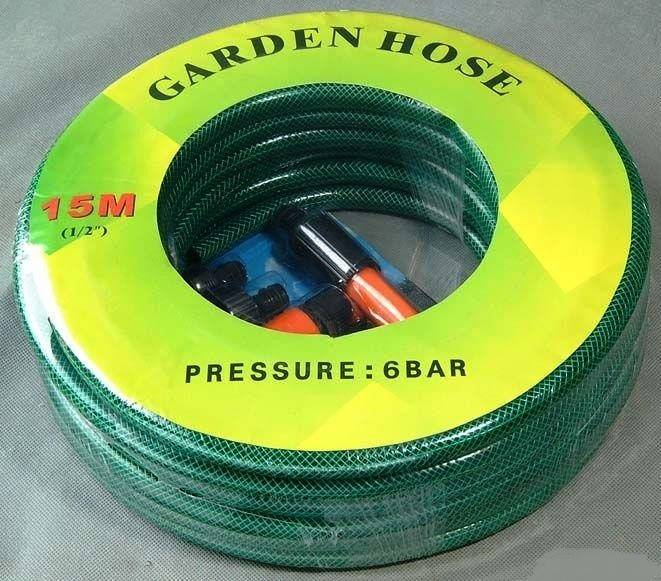 High Quality Durable Flexible Fiber Braided High Pressure Reinforced PVC Garden Hose