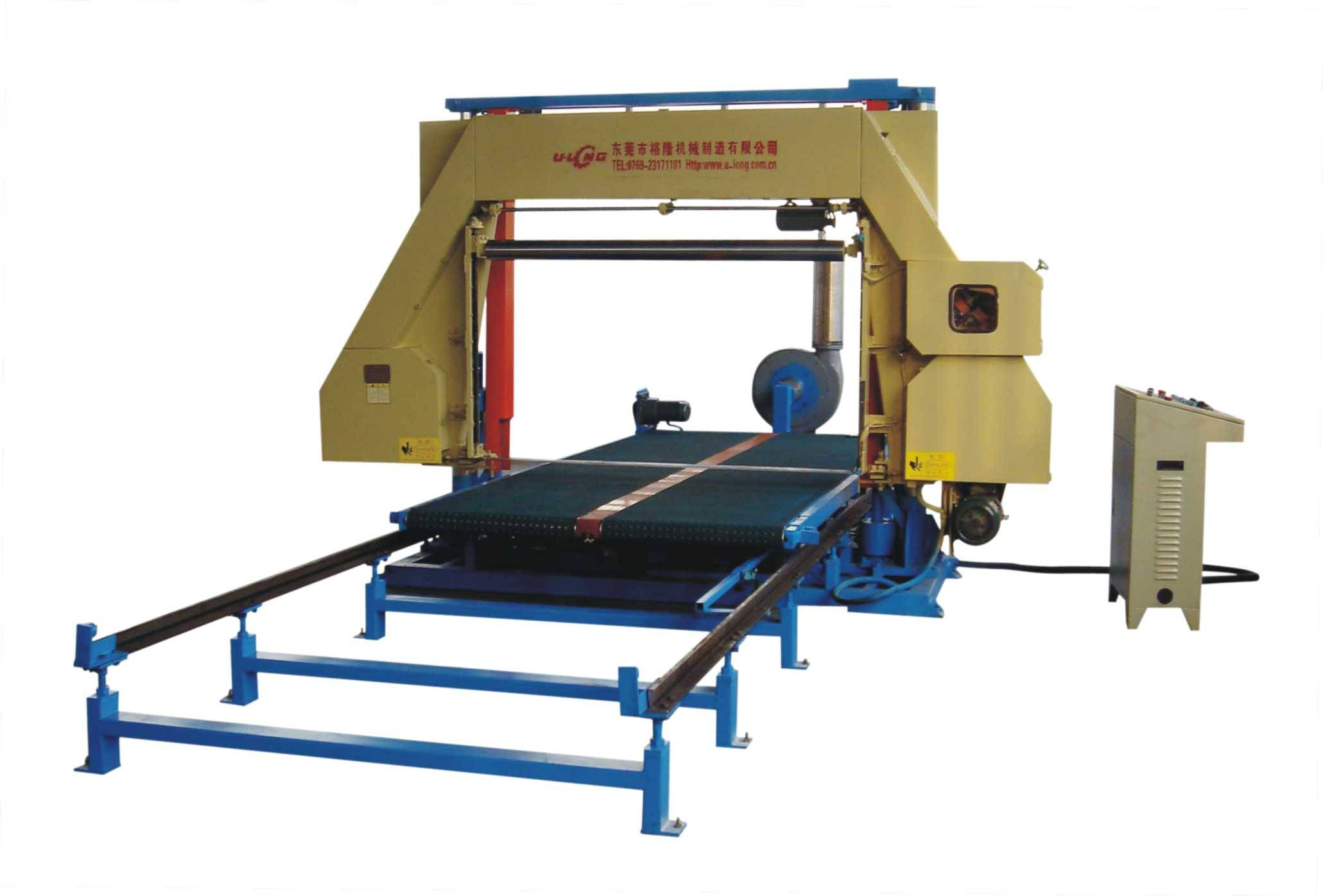 Automatic Filling Foam Horizontal Cutting Machine(with vacuum)