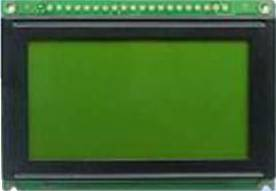 STN Yellow Green 128 x 64 Pixels Graphics LCD