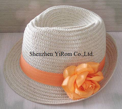 YRLS11008 paper straw ht, beach hat, leisure hat