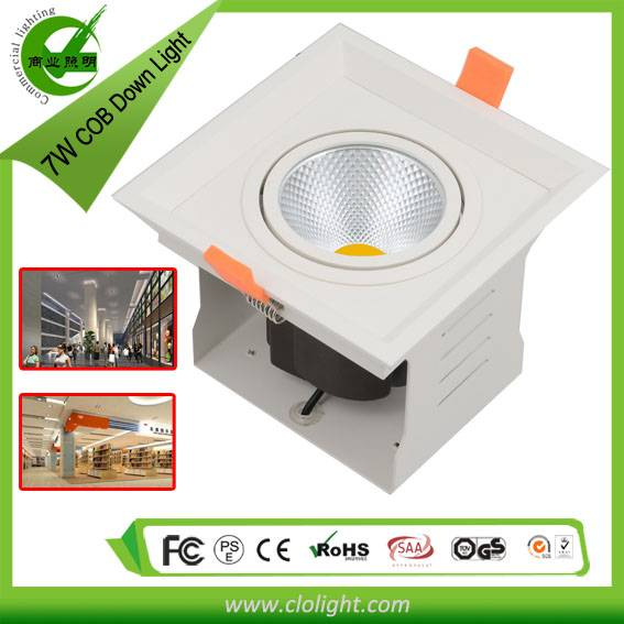 LED Light Source 7W COB downlight good quality best price