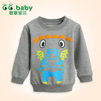 Spring Autumn Long-sleeve Baby Clothing Unisex Baby Boys T-shirt Cotton Fall Romper