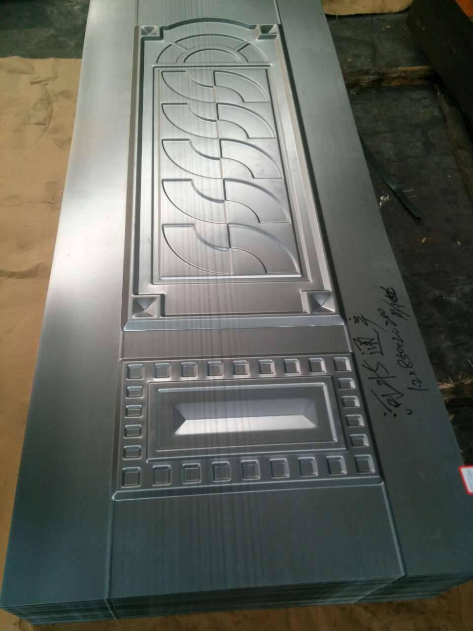 Security door, steel door panel, security door parts