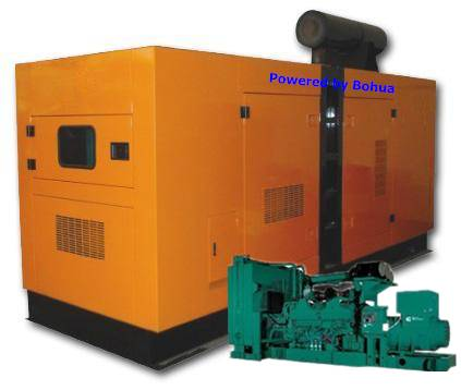 125KVA 100KW Cummins Diesel Generator Set Generating Machine Power Plant Fuel Generator Set