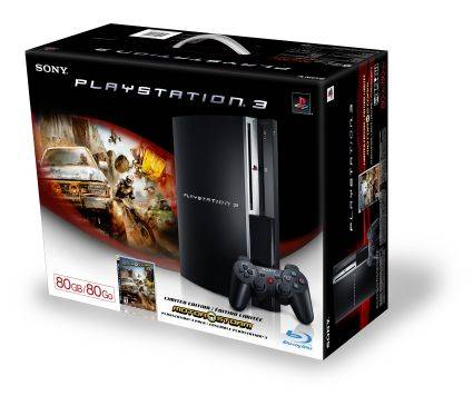 Sony Playstation 3 80GB MotorStorm Pack