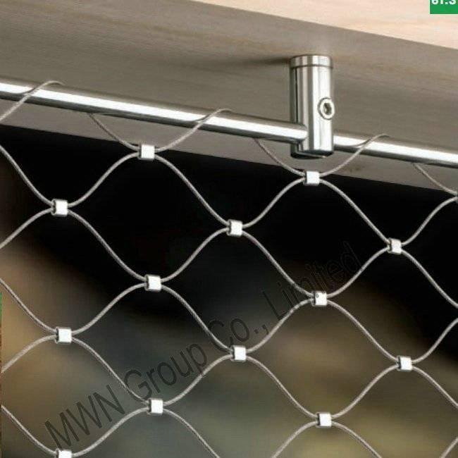 flexible stainless steel rope net