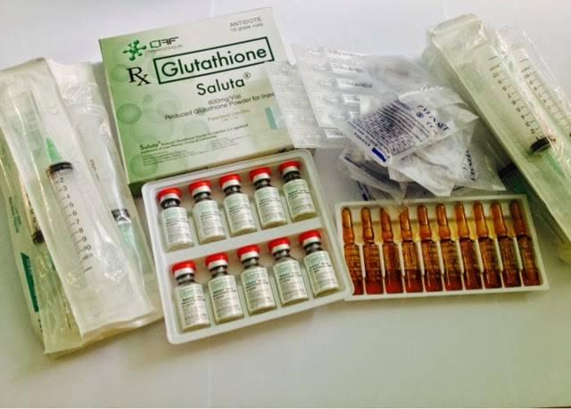Saluta/Tationil/Reiki/Glutax/Aqua Glutathione 600mg 1200mg & 1800mg