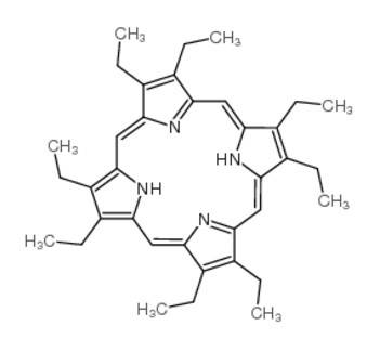 2,3,7,8,12,13,17,18-octaethyl-21,22-dihydroporphyrin