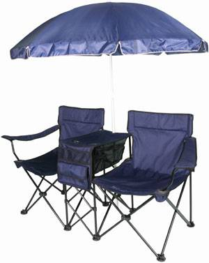 Double chair with Canopy,Umbrella Chair