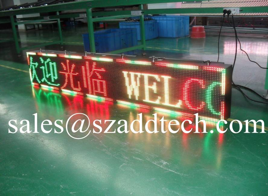 USA P10mm Tricolor LED Display Signs
