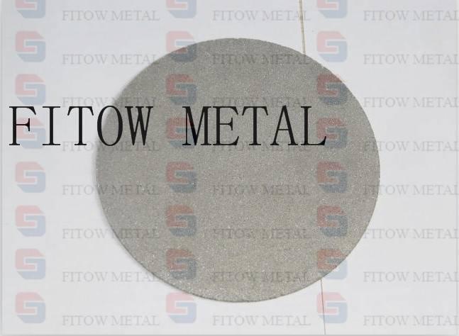 10um Sintering Metal Powder Titanium Filters