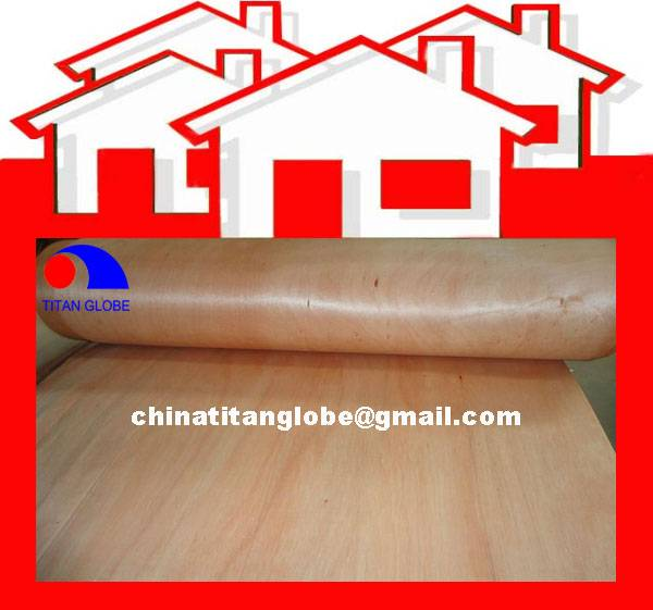 0.6mm Natural MLH Veneer,Hardwood Veneer,Face Veneer,Natural Wood Veneer With Mixed Red Colors