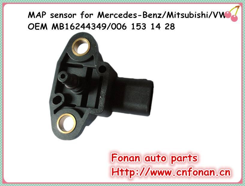 Suit for MERCEDES-BENZ /Mitsubishi /Smart/VW auto air pressure sensor OEM MB16244349/006 153 14 28