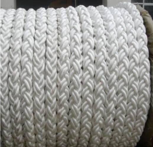 PP polypropylene mooring rope