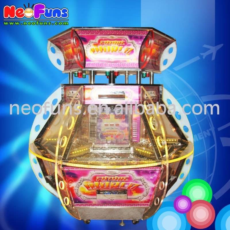 Future World coin pushers machine