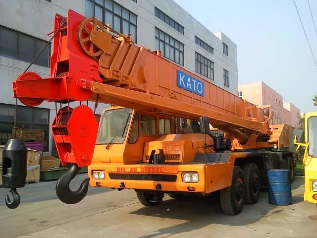japan mobile crane used kato 50ton truck crane NK-500E