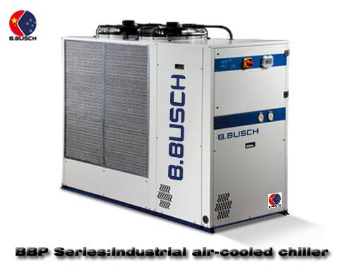 Plastic profile cooling special BUSCH industrial box type chiller