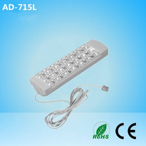 led emergency light charging by telephone line