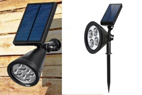 Solar Spotlight with Remote Control