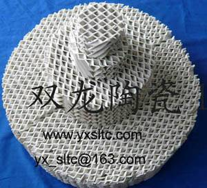 ceramic corrugated packing