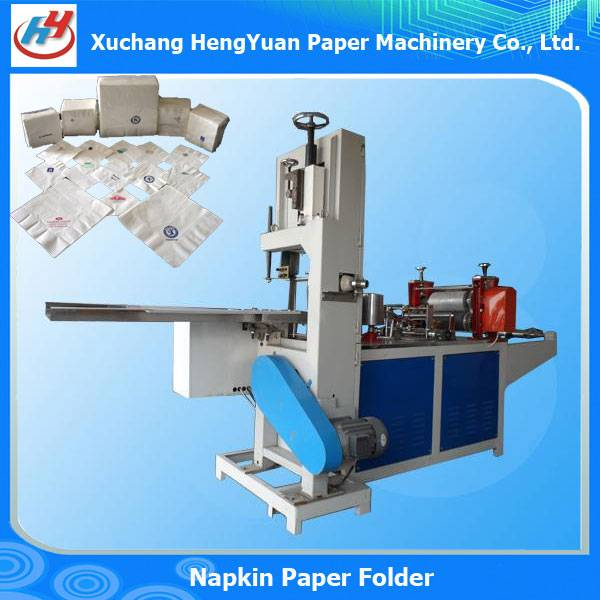 Color Printing Embossing Napkin Folding Machine