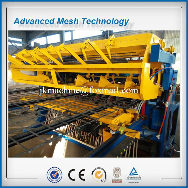Ribbed Steel Wire Mesh Welding Machines for 3-8mm, 2.5m, Construction Mesh