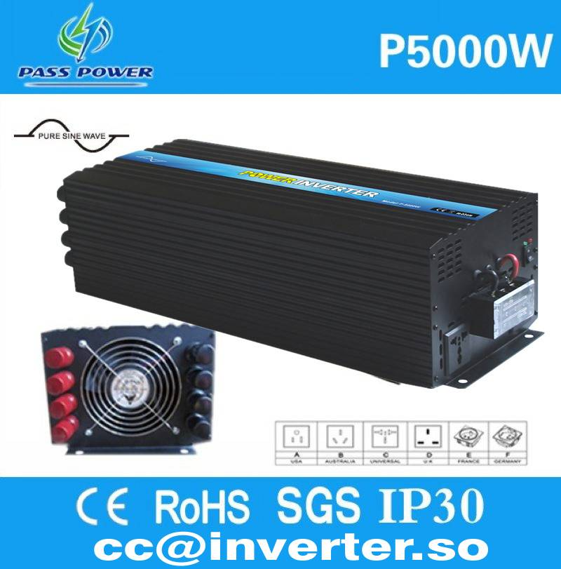 Factory Direct Sell Pure Sine Wave Solar PV Inverter 5000W