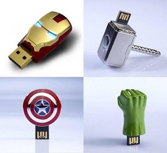 The Avengers USB Flash Drives
