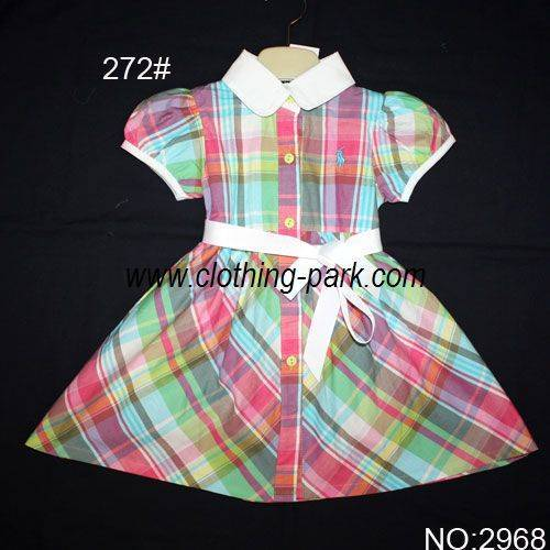 children clothes 2968 POLO Dress