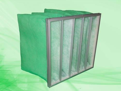 Synthetic fiber pocket pre-filter,filter bag