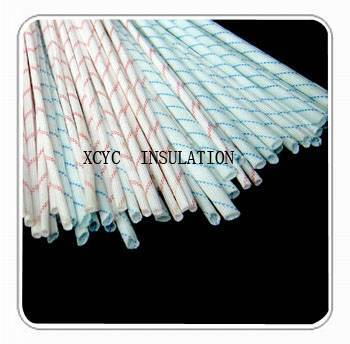 2715 Fiberglass sleeving coated with polyvinyl chloride resin