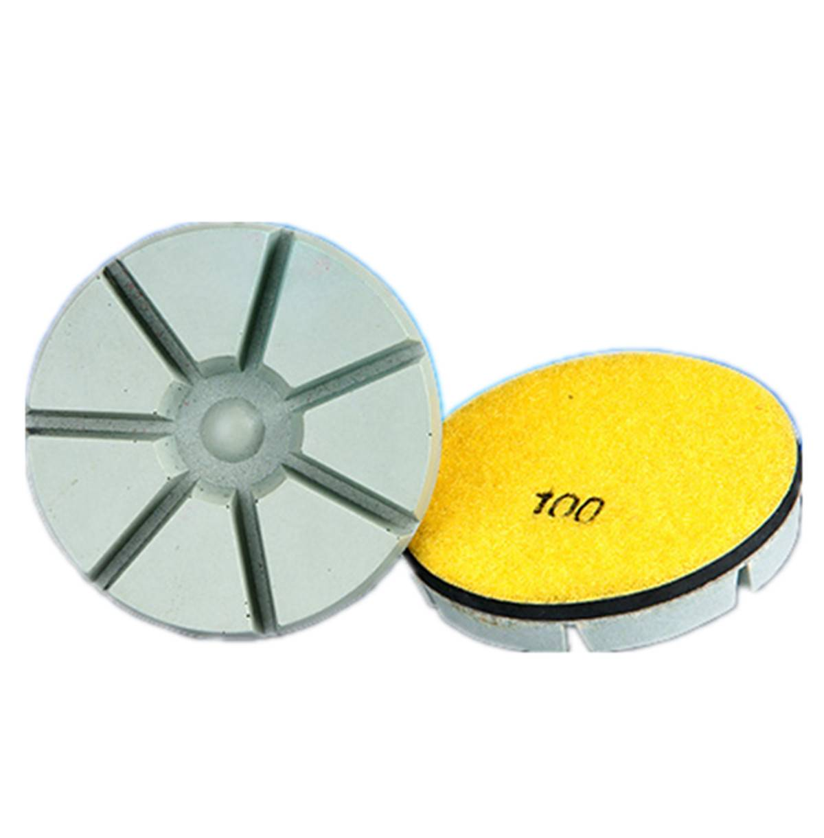 concrete dry polishing pads