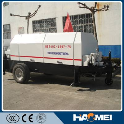 HBT90S1821-200 trailer concrete pump with Good Price