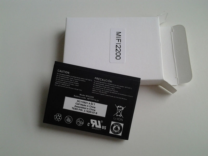 Brand new Replacement Battery for Novatel MiFi 2200 Mobile Hotspot Router Battery