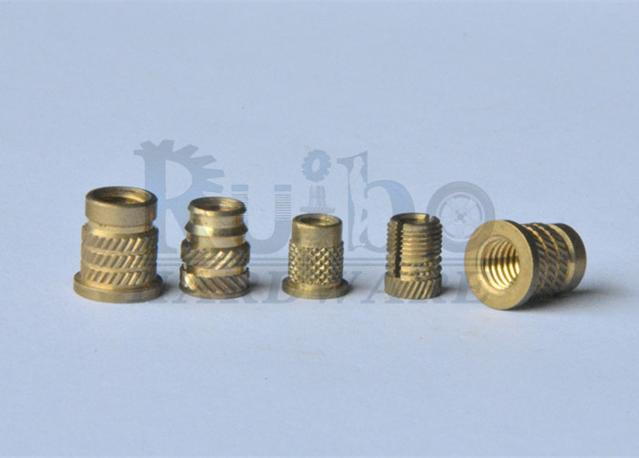 Brass customize service knurl nut