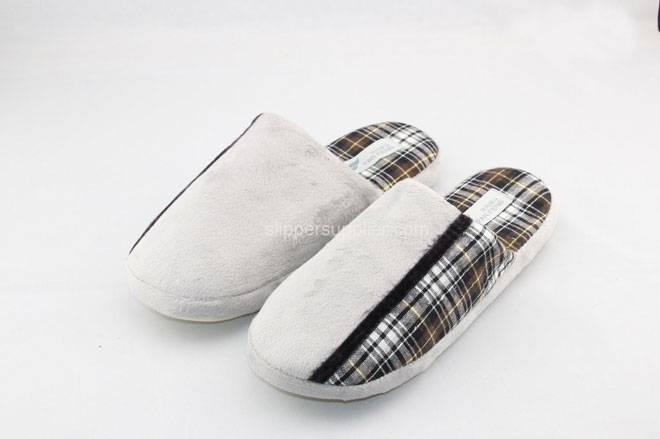 Mens splice mule slippers