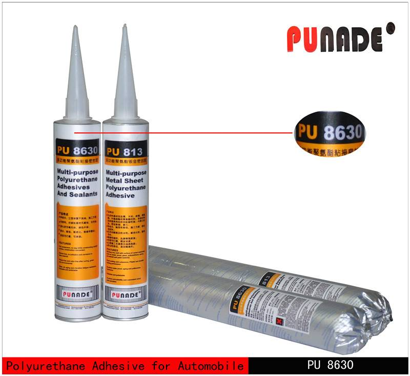 Multi-purpose polyurethane/pu auto glass sealant & adhesive PU8630