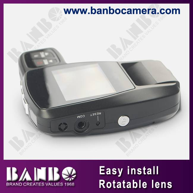 Rotating lens 720p hd car recorder