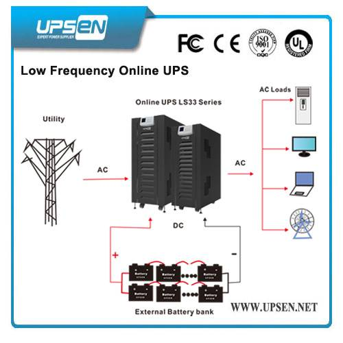 Industrial 3 Phase 10k-100k IGBT Low Frequency Online UPS