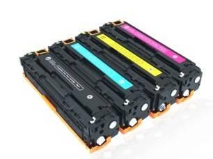 compatible HP ce310 ce311 ce312 ce313 toner cartridge