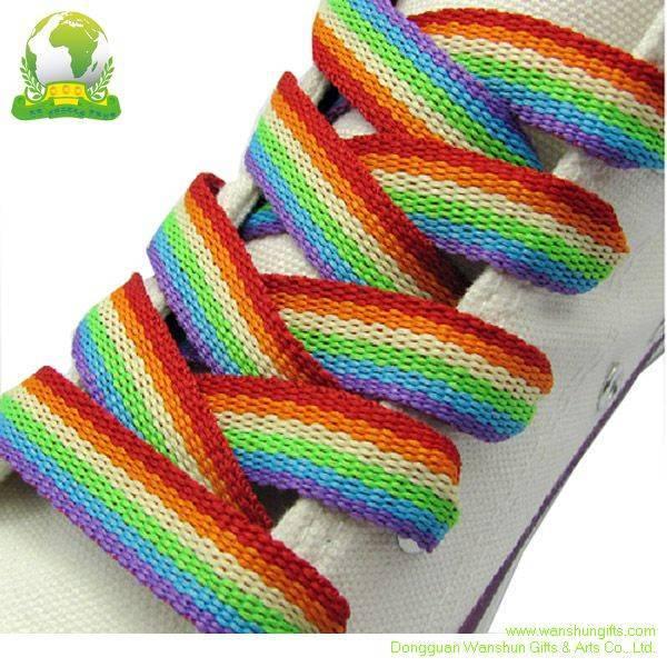 Selling Shoelaces Silk Screen Printing Logo