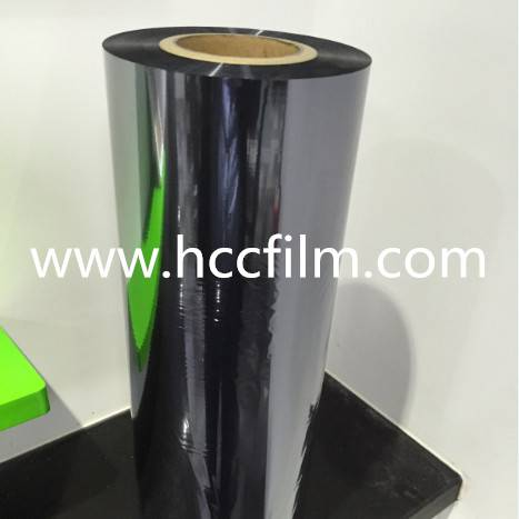 Anti-static bag semi film packaging material