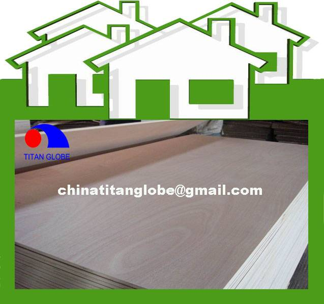 Linyi oOkoume Furniture Plywood/Commercial Plywood Board - Titan Globe