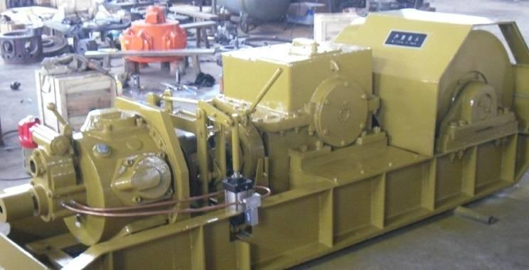 ten-ton lift capability air winch for mine