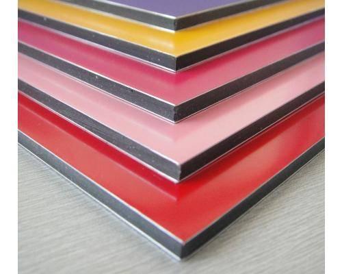 Aluminum composite panel PE, PVDF coating cheap price made in Vietnam