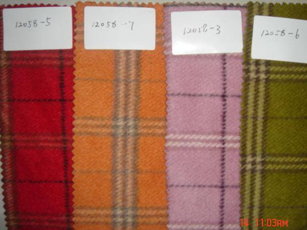 wool fabric stock