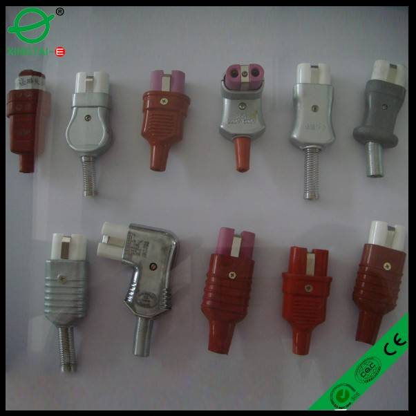 high temperature electric power plug