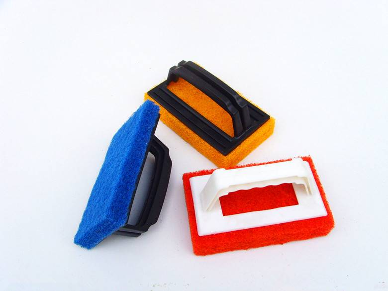 Handle scouring pad cleaning kicthen products cloths
